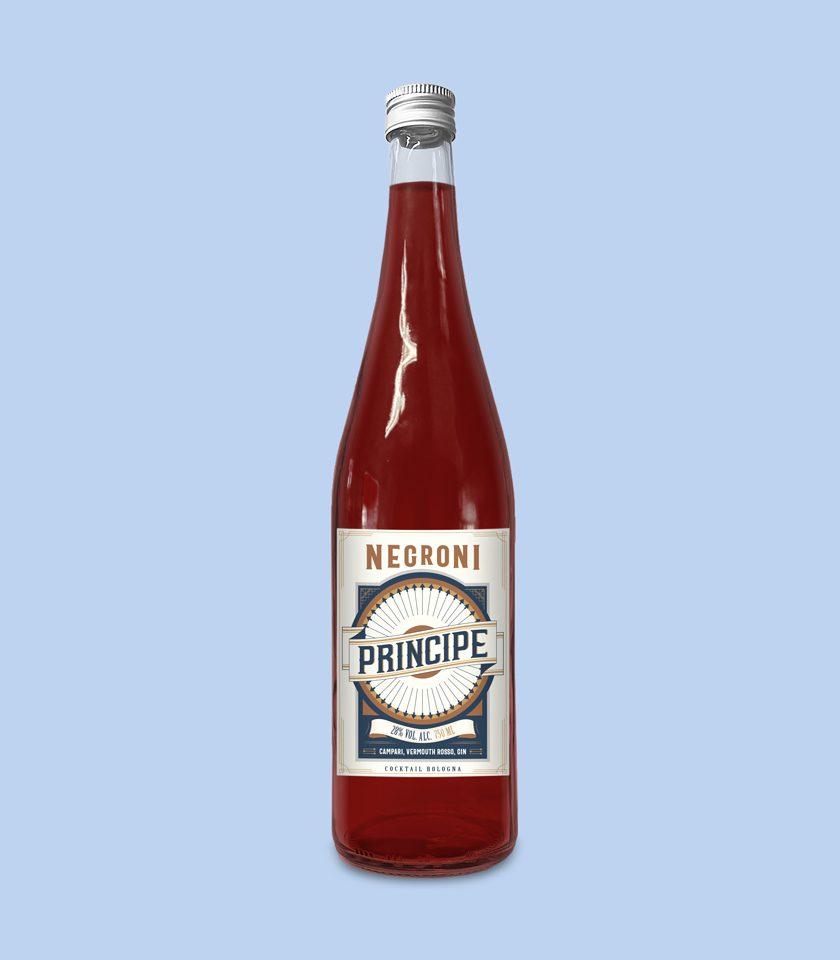 negroni cocktail ready to drink a domicilio bologna