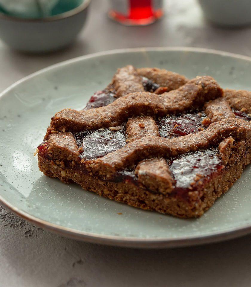 linzer torte torta ricetta artigianali qualità vicino a me pasticceria a domicilio colazioni asporto bologna